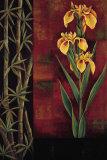 Yellow Iris Posters af Jill Deveraux