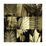 Tropical Leaves I Posters by Caroline Kelly