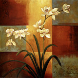 White Orchid Posters af Jill Deveraux