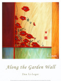 Along the Garden Wall Prints by Don Li-Leger