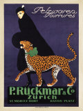 P. Ruckmar and Co., 1910 Poster par Ernest Montaut