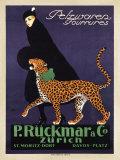 P. Ruckmar & C., 1910 Kunstdruck von Ernest Montaut