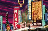 Fremont Street, Las Vegas, Nevada Prints by Mitchell Funk