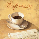 Espresso-Tasse Kunstdrucke von Fabrice De Villeneuve