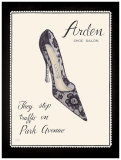 Arden Shoe Salon Prints by Emily Adams