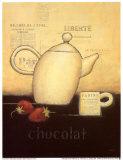 Chocolat Prints by Emily Adams