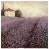 Lavender Hills Detail Prints by James Wiens