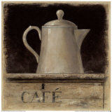 Cafe de Provence Prints by Arnie Fisk
