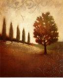 Crimson Dawn Print by Edward Raymes
