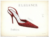 Elegance, Rouge Prints by Emily Adams