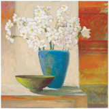 Paperwhite Vase Posters by Claire Lerner