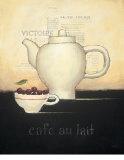 Cafe au Lait Kunstdrucke von Emily Adams