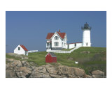 Nubble Light Photographic Print by Stephen Gilmartin