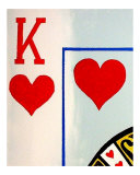 King Of Hearts Giclee Print by Teo Alfonso