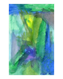 Blues and Greens Giclee Print by Robert Sicotte