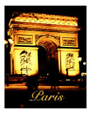 Paris Photographic Print by Scott Kuehn