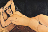 Nu rouge Affiches par Amedeo Modigliani