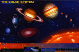 SOLAR SYSTEM The Solar System - International Edition Fine-Art Print