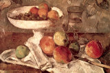 Natures mortes Affiches par Paul Cézanne