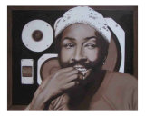 Marvin in My Speakerbox Giclee Print by Leah  V. Chappell