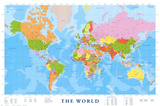 Map of the World Photo