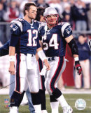 Tom Brady  and Tedy Bruschi Photo