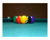 Cue's View 9 Ball Photographic Print by Denis Horbatuk