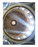 Saint Peter's Basilica in the Vatican Photographic Print by Alex Cybriwsky