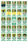Celctic Squad 2005-2006 Posters