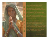 Principles of Humanity - Kindness Photographic Print by ziva santop