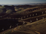 Wind Turbines at Altamont Pass Photographic Print by James A. Sugar