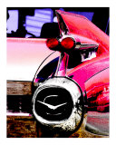 Pink Caddy Photographic Print by Talon Sorensen