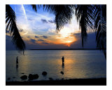 Sunset Fishing Photographic Print by Gary M. Curtis
