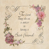 My Best Friend Print by Charlene Winter Olson
