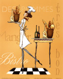 Sassy Chef IV Poster by Mara Kinsley