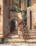 Provence Arch I Prints by Jerry Georgeff