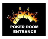 Poker Room Entrance Giclee Print by Teo Alfonso