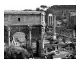 The Roman Forum Photographic Print by Donna Corless