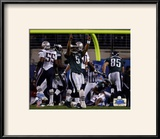 Donovan McNabb - Super Bowl XXXIX - Celebrates 7 Yard Touchdown Pass Prints