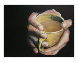 Cup of Comfort Giclee Print by Todd Horne
