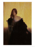 Portrait of a Woman Giclee Print by Charles Leandre