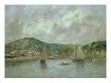 Cherbourg, 1883 Reproduction procédé giclée par Eugène Boudin