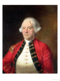 Portrait of Augustin Prevost in Uniform Giclee Print by Mather Brown