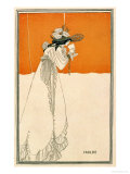 Isolde, Illustration from &quot;The Studio,&quot; 1895 Giclee Print by Aubrey Beardsley
