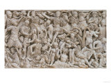 The Ludovisi Sarcophagus with High Relief Representation of the Romans Fighting the Barbarians Giclee Print