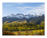 Aspen Mountains Photographic Print by David Cramer