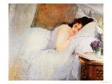 Woman Awakening, 1876 Giclee Print by Eva Gonzales
