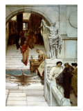 An Audience at Agrippa&#39;s, 1875 Giclee Print by Sir Lawrence Alma-Tadema