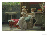 Mother's Darling Giclee Print by Guglielmo Zocchi