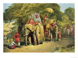 The Governor-General's State Howdah, 1863 Giclee Print by William Simpson